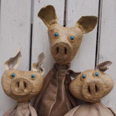 Die Geschichte von den 3 kleinen Schweinchen