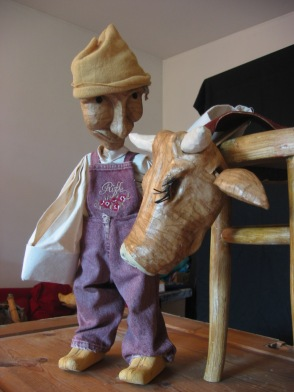 Hans mit Kuh